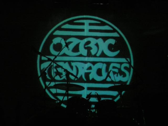 Ozric Tentacles stage before the show