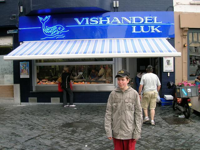 Groentemarkt Oostende, Augustus 2006