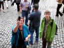 Foto's maken op de Grote Markt