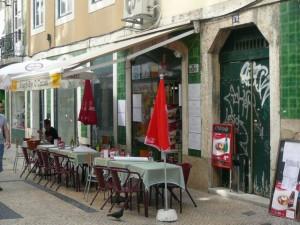 659 laatste lunch in Lissabon - Rua dos Douradores