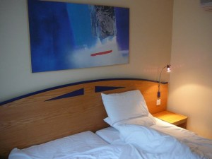 345 the hotel bed