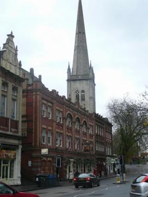 370 Bristol - Baldwin Street with The Old Fish Market pub