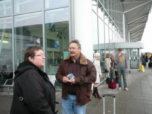 373 ModifiedDog and LudzNL at Bristol Airport
