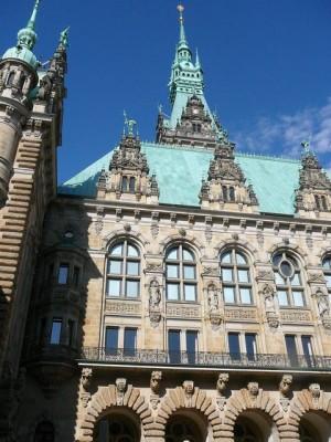 054 Hamburg - Rathaus