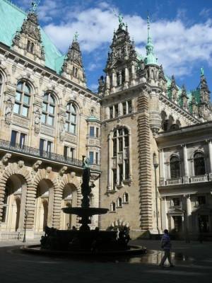 055 Hamburg - Rathaus