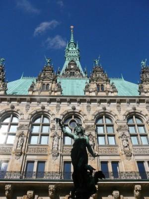 058 Hamburg - Rathaus
