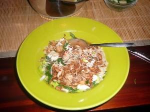 Bami soep - Soto soup - February 27, 2009