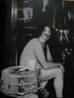 Lexolo as his alter ego Frank Zappa