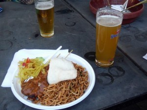 bazbo's dinner
