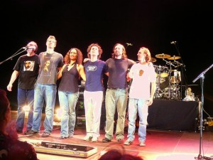 24 ZpZ goodbye - Joe Travers, Ben Thomas, Scheila Gonzales, Dweezil, Pete Griffin & Jamie Kyme