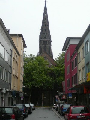 28 church in Bochum city centre