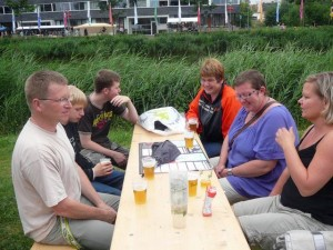 Robert, Freek, Luuk, Marja, E & Marieke