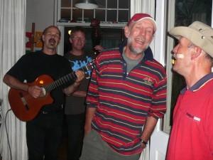 The Bottles: Lexolo, Martin, Hans & Paul