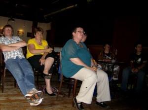 Het publiek - Robert, Marja, E, Richard & Bas
