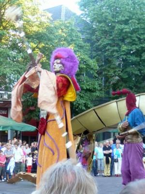 Compagnie Malabar (Fr) 'Helios II' op de Brink