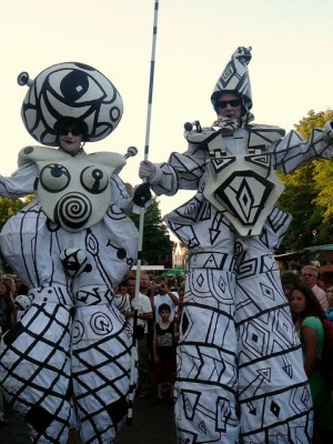Zebra Theater (Dts) 'Urbansky & Popp' op de Brink
