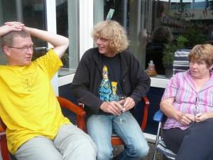 Robert, Arie & Marja