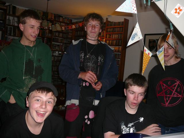 Mike, Daan, Richard, Luuk & Freek