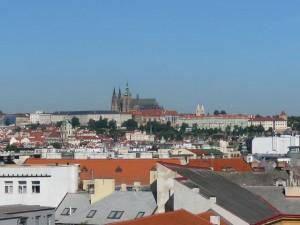 449 Uitzicht vanaf onze hotelkamer - Praagse Burcht