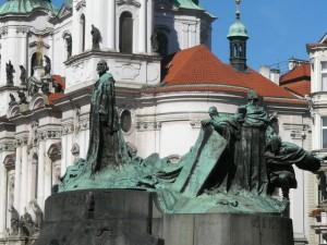 458 Plein Oude Stad - Johannes Hus monument