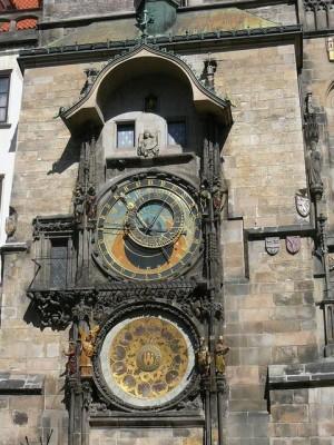 463 Plein Oude Stad - Stadhuis - Astronomische klok