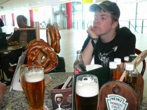 512 Vliegveld Praag - Pauze