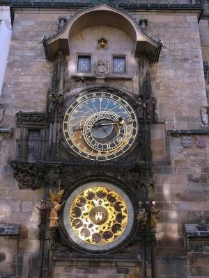 032 Stadhuis Oude Stad - Astronomische klok