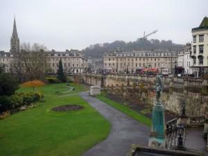038 Bath - Parade Gardens