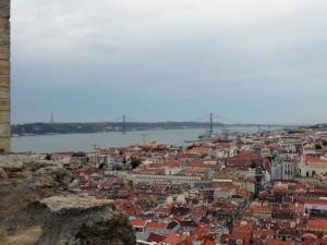 046 uitzicht op Baixa en de Tejo met de Ponte 25 de Abril