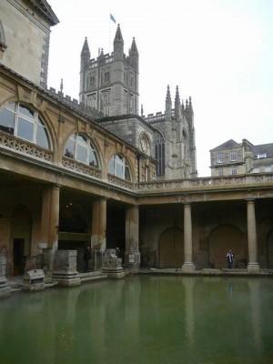 054 Bath - Roman Baths