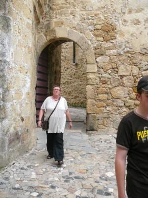 054 we verlaten het Castelo de São Jorge