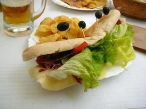 075 bazbo's broodje rauwe ham en kaas