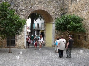 077 we verlaten het Castelo de São Jorge