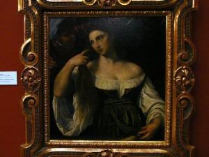 091 Praagse Burcht - Schilderijengalerij - Toilet van een jonge vrouw - door Titian