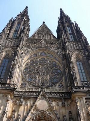 095 Praagse Burcht - St. Vituskathedraal