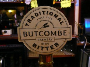 098 Butcombe ale - am I the only non-UK who knows how to pronounce it?