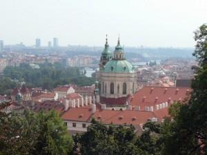 106 vanaf de Praagse Burcht - St. Nicolaaskerk Kleine Zijde