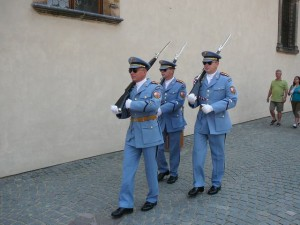 115 Praagse Burcht - de garde