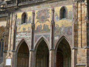 119 Praagse Burcht - St. Vituskathedraal - Gouden Portaal