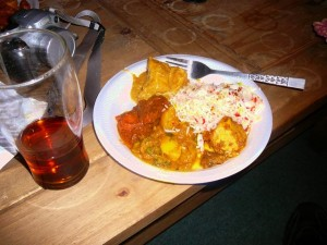 124 bazbos curry plate