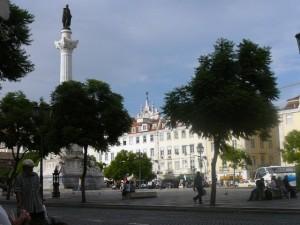 125 op het Rossio plein in de wijk Baixa