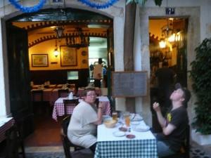135 restaurant Lautasca in de oude wijk Alfama