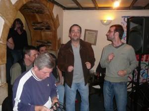 151 Simon and Gary dancing