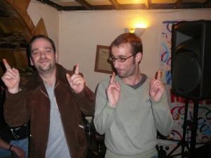 152 Simon and Gary dancing