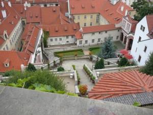 161 uitzicht van de Praagse Burcht - Ledebourtuin