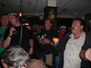 162 Zappateers in Gunnars bar