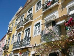 163 karakteristieke huizen aan de Rua Vieira Portuense