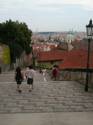 169 trap van de Praagse Burcht naar Kleine Zijde