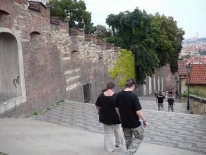 170 trap van de Praagse Burcht naar de Kleine Zijde