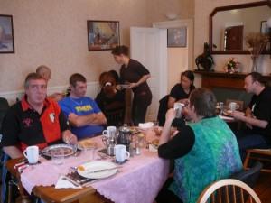 174 Zappateers breakfast with Lisa